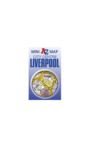 Liverpool Mini Map By Geographers A-Z Map Company