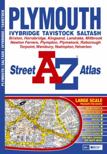 Plymouth Street Atlas by Geographers' A-Z Map Company