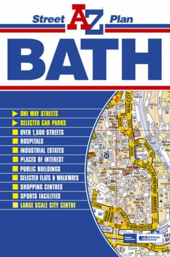 Bath Street Plan By Geographers' A-Z Map Company