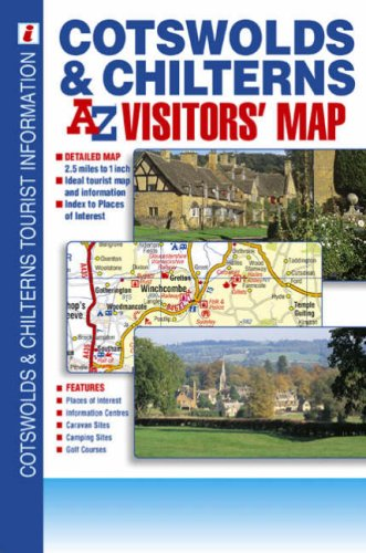 Cotswolds and Chilterns Road Map
