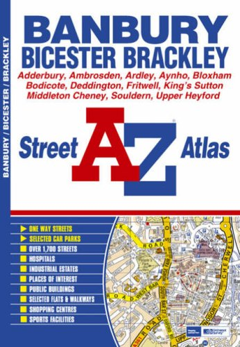 Banbury Street Atlas By Great Britain