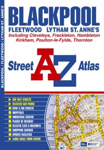 Blackpool Street Atlas by