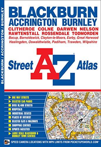 Blackburn Street Atlas By Geographers' A-Z Map Company