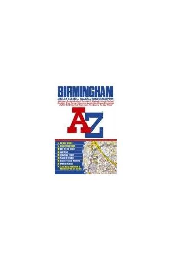 Birmingham Street Atlas By Geographers' A-Z Map Company