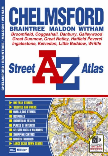 Chelmsford by Geographers' A-Z Map Company