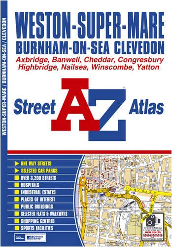 Weston-super-Mare Street Atlas By Geographers' A-Z Map Company