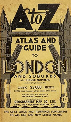 London Street Atlas By A-Z maps