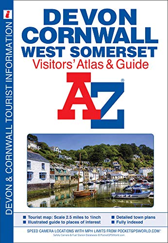Devon, Cornwall and West Somerset Visitors' Atlas by Geographers' A-Z Map Company