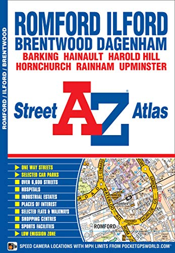 Romford and Ilford Street Atlas By Geographers' A-Z Map Company