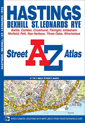 Hastings Street Atlas By Geographers' A-Z Map Company
