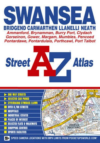 Swansea Street Atlas by Geographers' A-Z Map Company