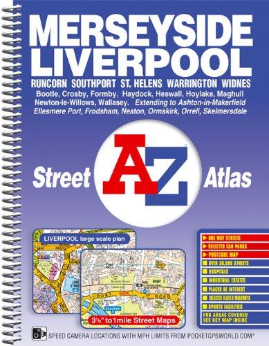 Merseyside Street Atlas by Geographers' A-Z Map Company