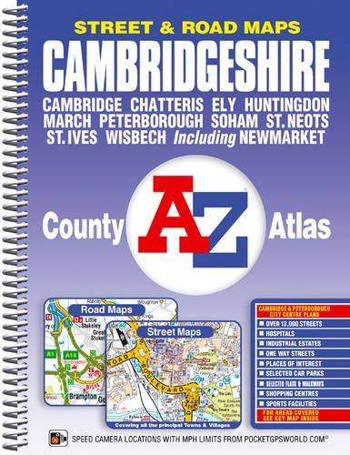 Cambridgeshire County Atlas By Geographers' A-Z Map Company