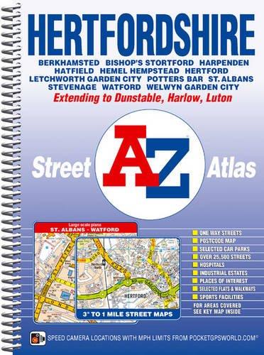 Hertfordshire Street Atlas By Geographers' A-Z Map Company