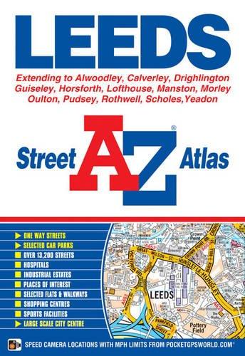 Leeds Street Atlas by Geographers' A-Z Map Company