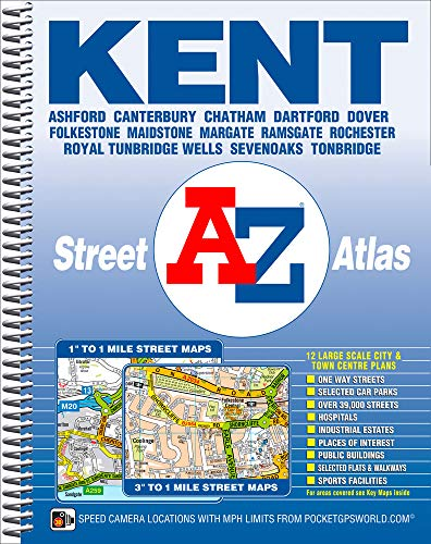 Kent County Atlas By Geographers' A-Z Map Company