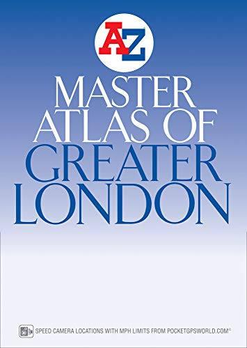 London Master Atlas By Geographers' A-Z Map Company