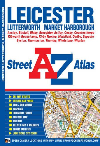 Leicester Street Atlas (A-Z Street Atlas) By Geographers' A-Z Map Company