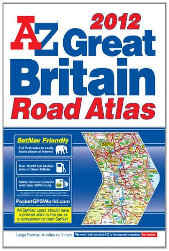 Great Britain Road Atlas By Geographers' A-Z Map Company
