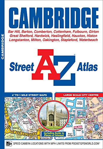 Cambridge Street Atlas By A-Z maps