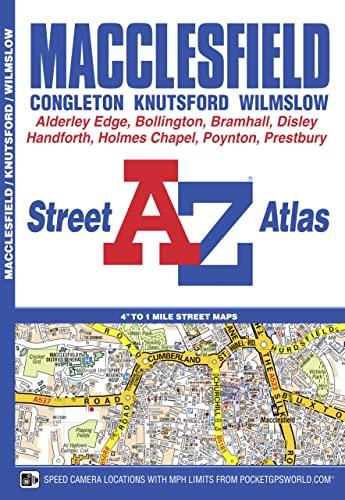Macclesfield A-Z Street Atlas (London Street Atlases) By Geographers' A-Z Map Company