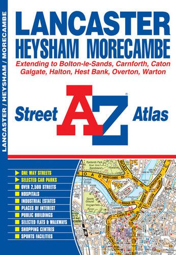 Lancaster Street Atlas By Geographers' A-Z Map Company