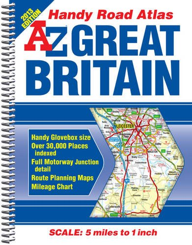 Great Britain Handy Road Atlas By Geographers' A-Z Map Company