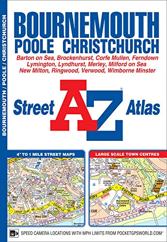 Bournemouth Street Atlas By Geographers' A-Z Map Company