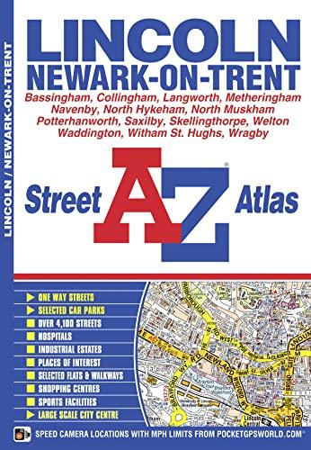 Lincoln A-Z Street Atlas By A-Z maps