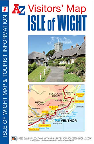 Isle of Wight Visitors Map By Geographers' A-Z Map Company