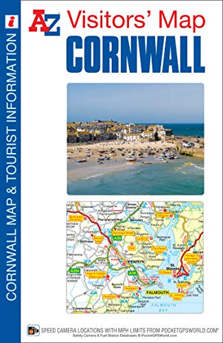 Cornwall Visitors Map by Geographers' A-Z Map Company