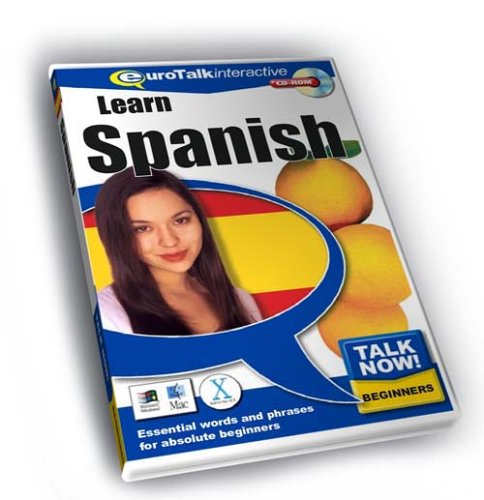Talk Now Learn Spanish: Essential Words and Phrases for Absolute Beginners (PC/Mac) By EuroTalk Ltd.