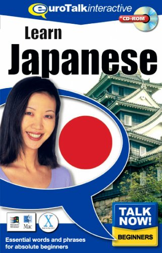 Talk Now! Learn Japanese. CD-ROM By EuroTalk Ltd.