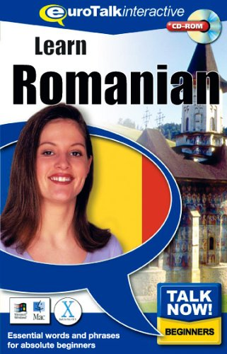 Talk Now Learn Romanian: Essential Words and Phrases for Absolute Beginners (PC/Mac) By EuroTalk Ltd.