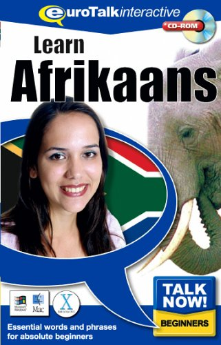 Talk Now Learn Afrikaans: Essential Words and Phrases for Absolute Beginners (PC/Mac) By EuroTalk Ltd.