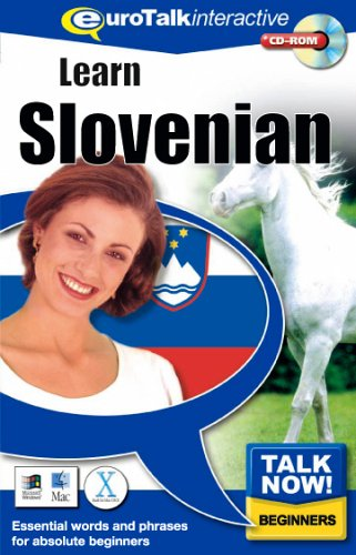 Talk Now Learn Slovenian: Essential Words and Phrases for Absolute Beginners (PC/Mac) By EuroTalk Ltd.