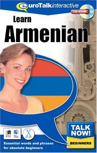 Talk Now Learn Armenian: Essential Words and Phrases for Absolute Beginners (PC/Mac) By EuroTalk Ltd.