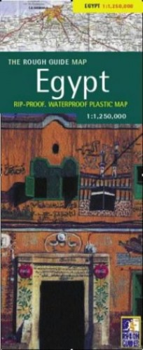 A Rough Guide Map Egypt By Reise Know-How Verlag
