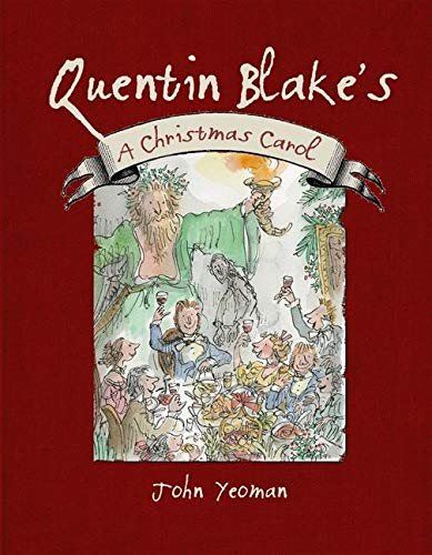 Quentin Blake's A Christmas Carol by Charles Dickens Book The Fast Free Shipping 9781843651659 ...
