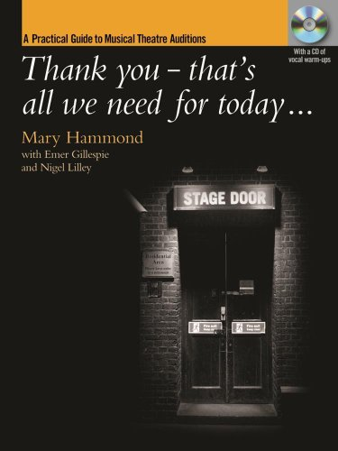 Thank You Thats All We Need for Today? By Mary Hammond