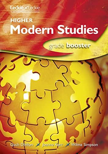 HIGHER MODERN STUDIES GRADE BOOSTER By Joanne Kerr & Wilma Simpson