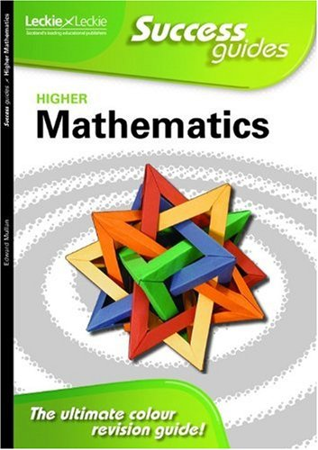 Higher Maths Success Guide by