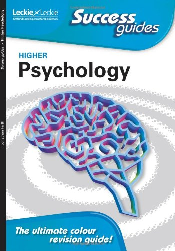 Higher Psychology By Jonathan Firth