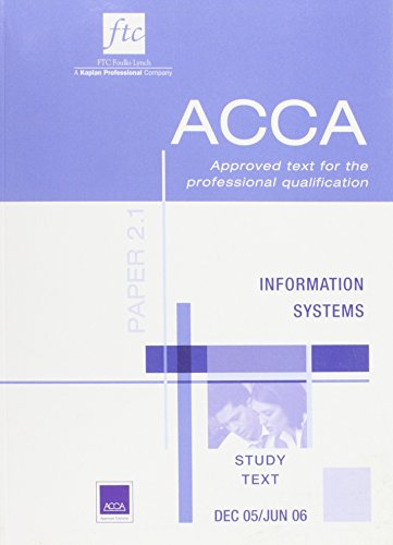 Information Systems By VARIOUS