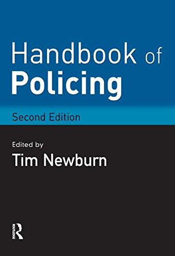 Handbook Of Policing By Edited By Tim Newburn London
