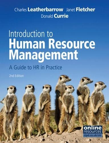 Introduction to Human Resource Management By Charles Leatherbarrow