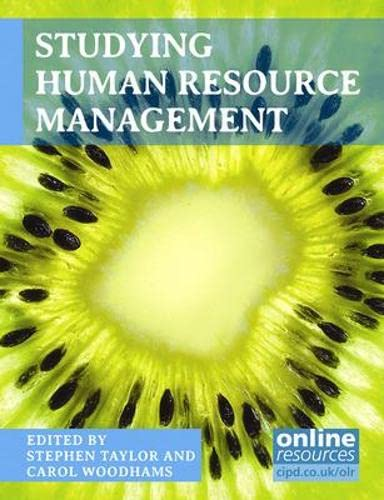 Studying Human Resource Management By Stephen Taylor