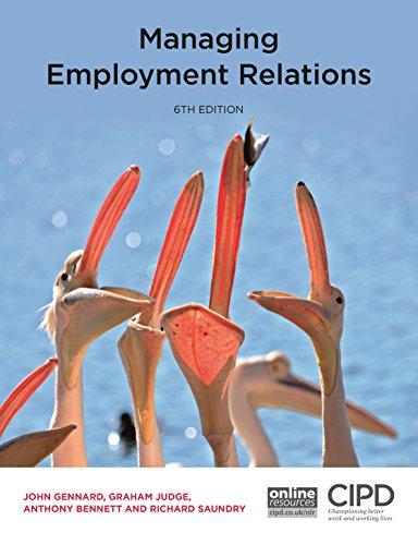 Managing Employment Relations By John Gennard