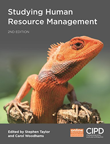 Studying Human Resource Management By Edited by Stephen Taylor