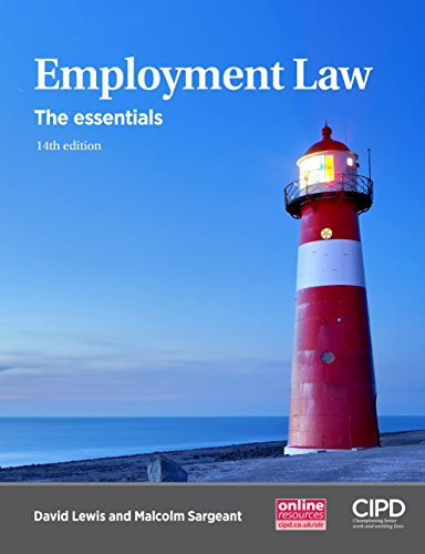 Employment Law: The Essentials By David Lewis